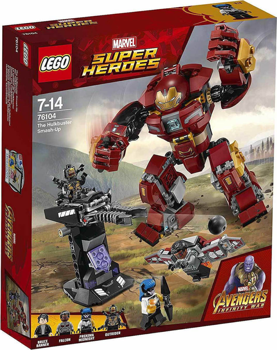 Lego Super Heroes: The Hulkbuster Smash-Up 76104