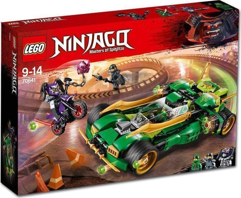 Lego Ninjago: Ninja Nightcrawler 70641