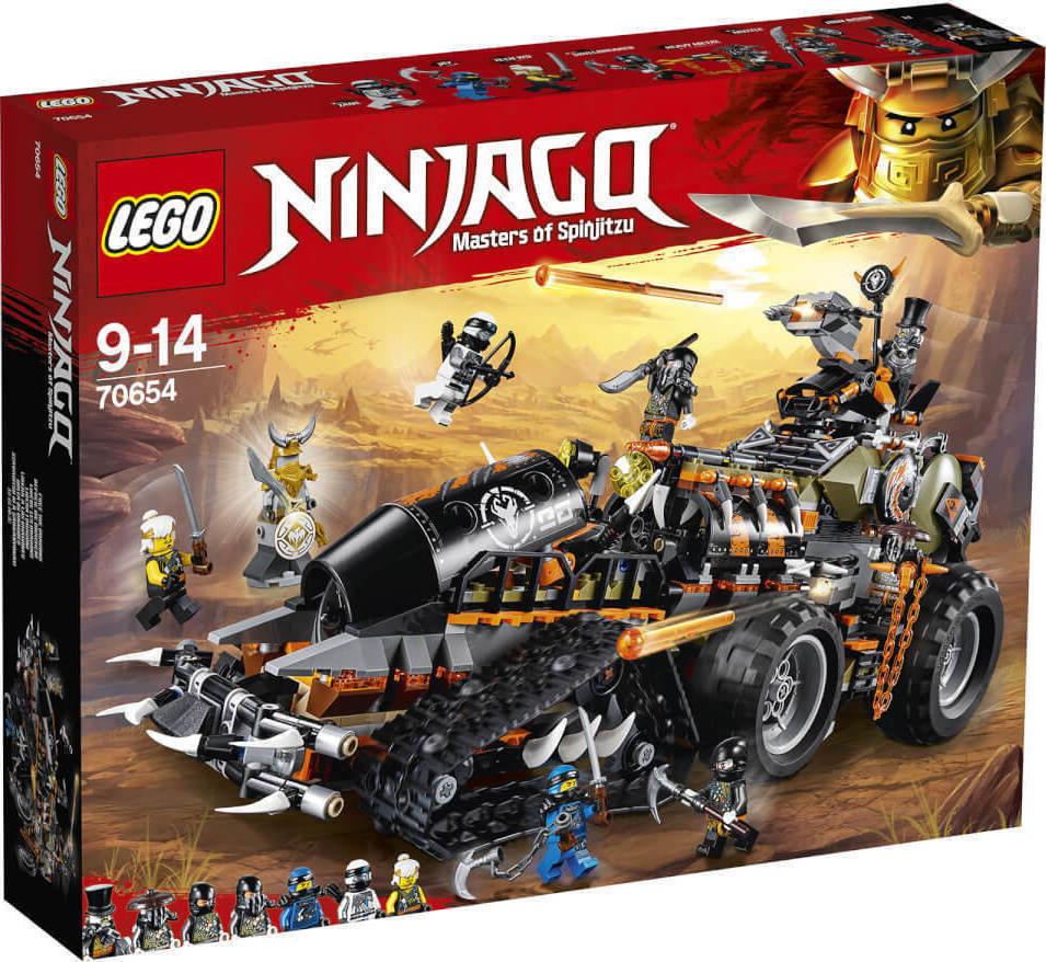 Lego Ninjago: Dieselnaut 70654