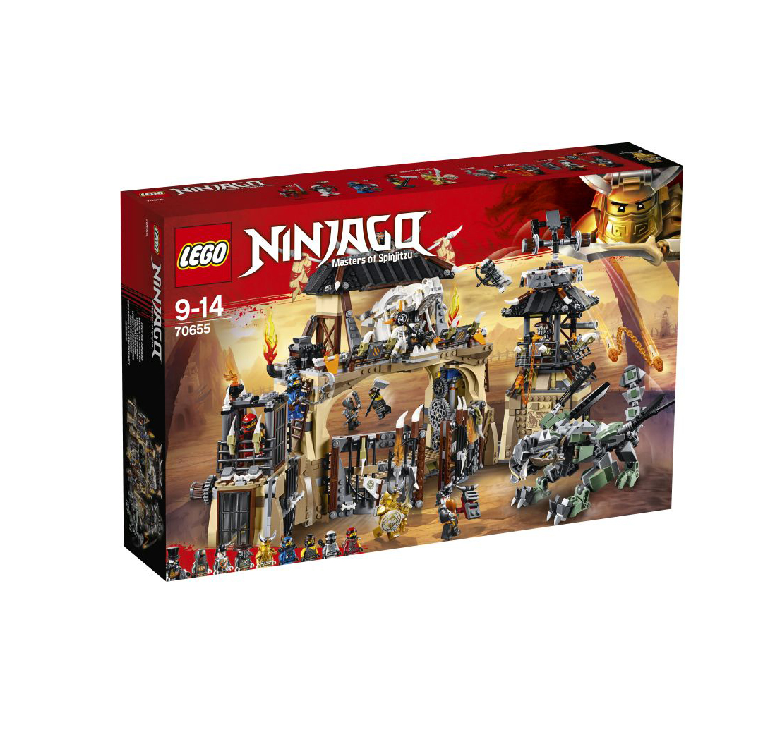 Lego Ninjago: The Dragon Den 70655