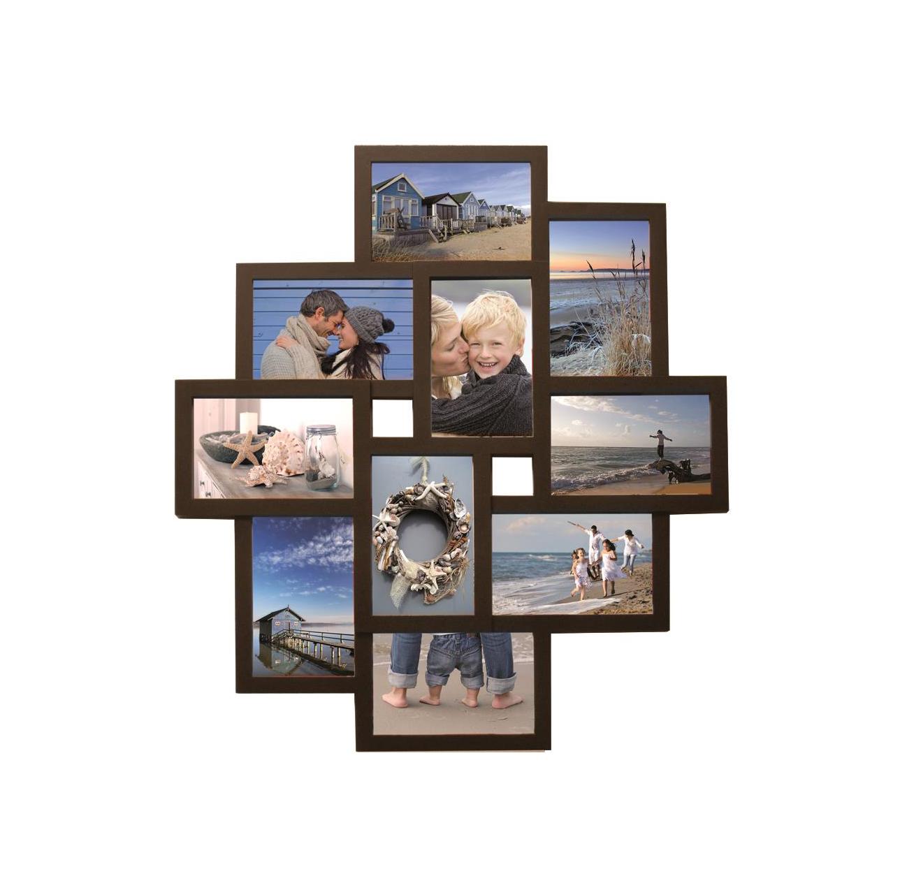 Henzo Holiday Brown Gallery 10 Photos 6x15x10 4x10x15 8121304 Κορνίζα Τοίχου