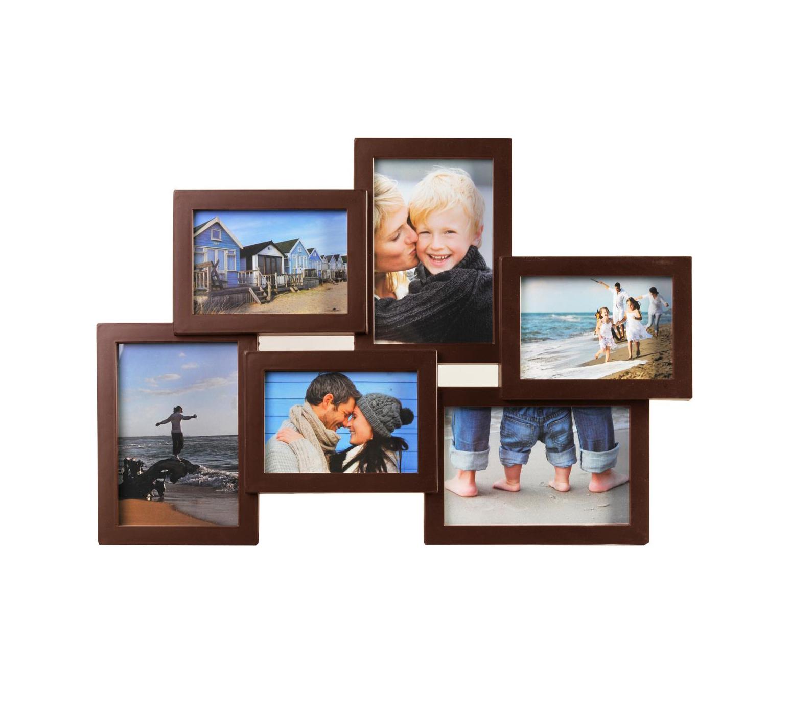Henzo Holiday Brown Gallery 6 Photos 3x9x13 3x10x15 8121104 Κορνίζα Τοίχου