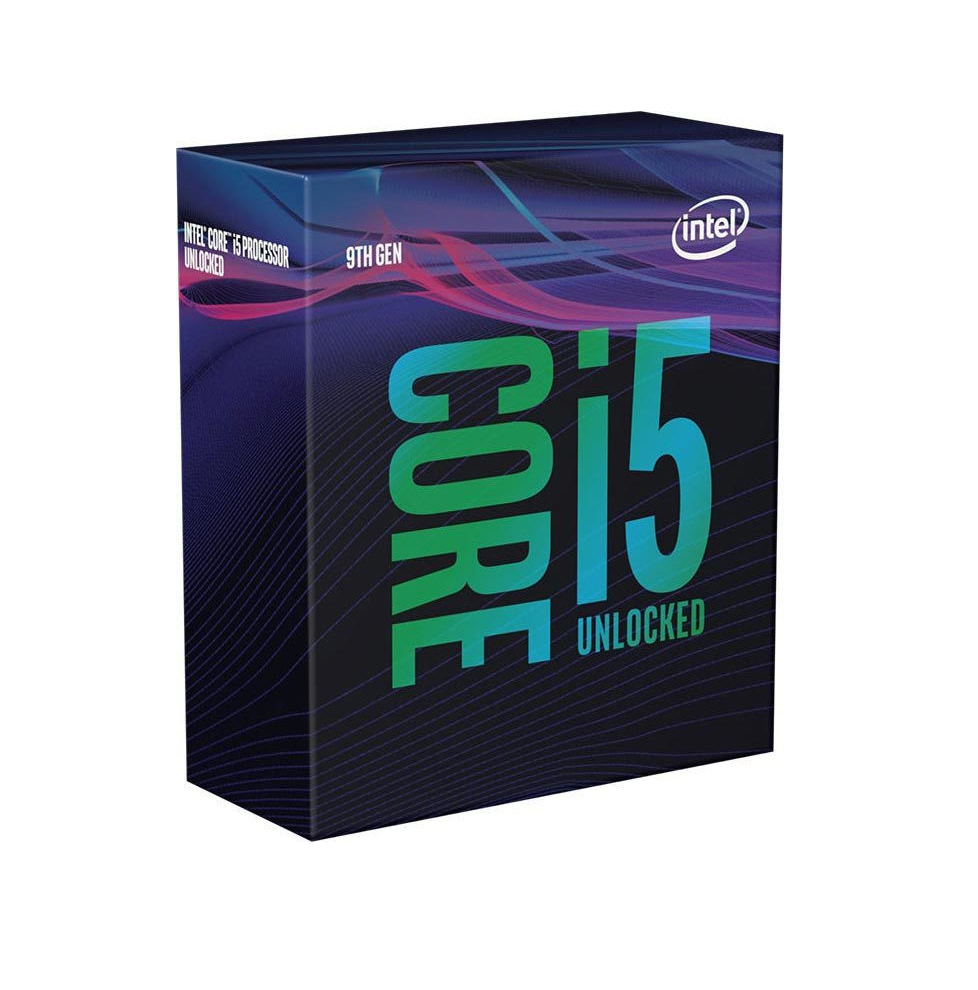 Intel Core i5-9600K Box Επεξεργαστής Πληρωμή έως 24 δόσεις