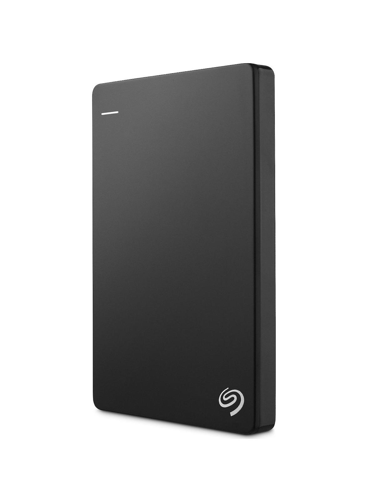 Seagate Backup Plus Slim 1TB Εξωτερικός Σκληρός Δίσκος Black