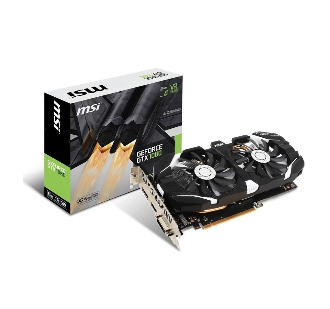 MSI GeForce GTX1060 6GB OCV1 Κάρτα Γραφικών Πληρωμή έως 24 δόσεις