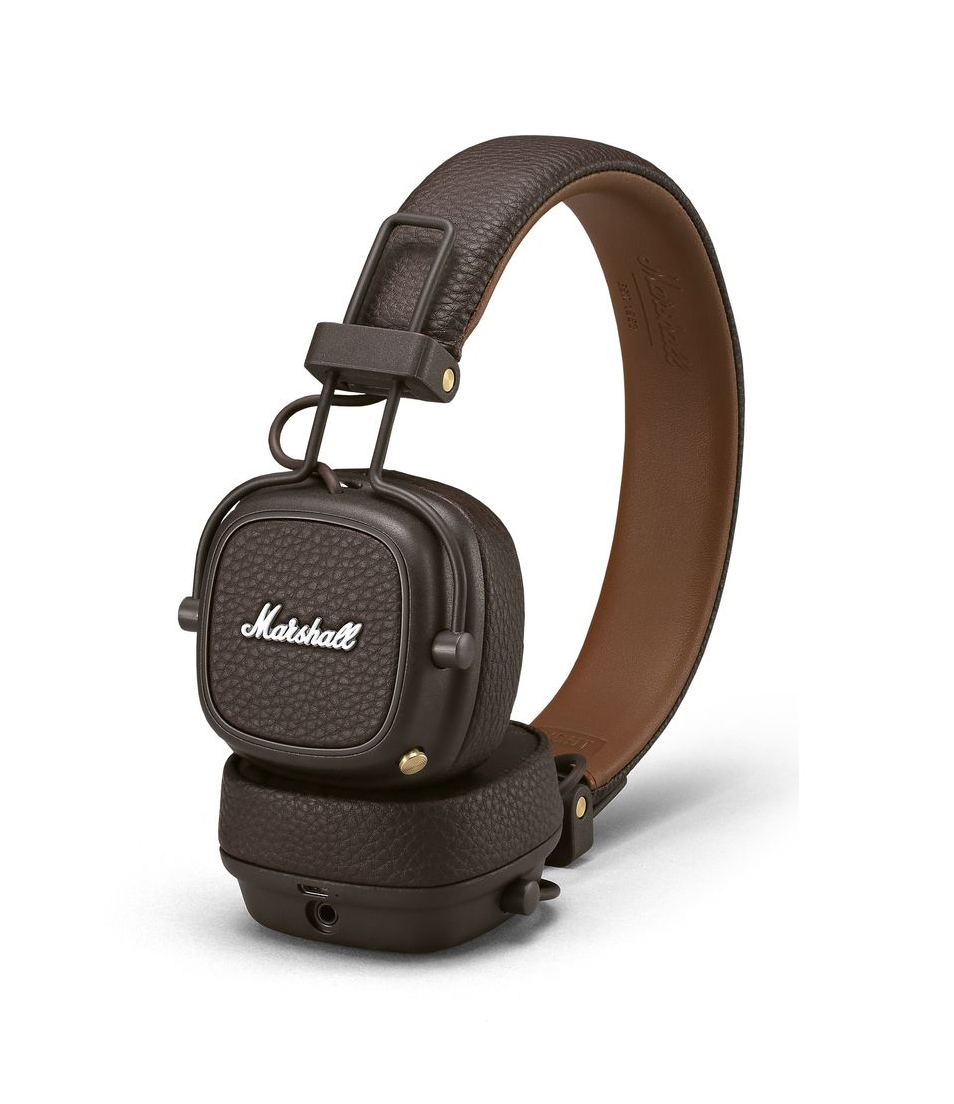 Marshall Major III Bluetooth Headphones Brown