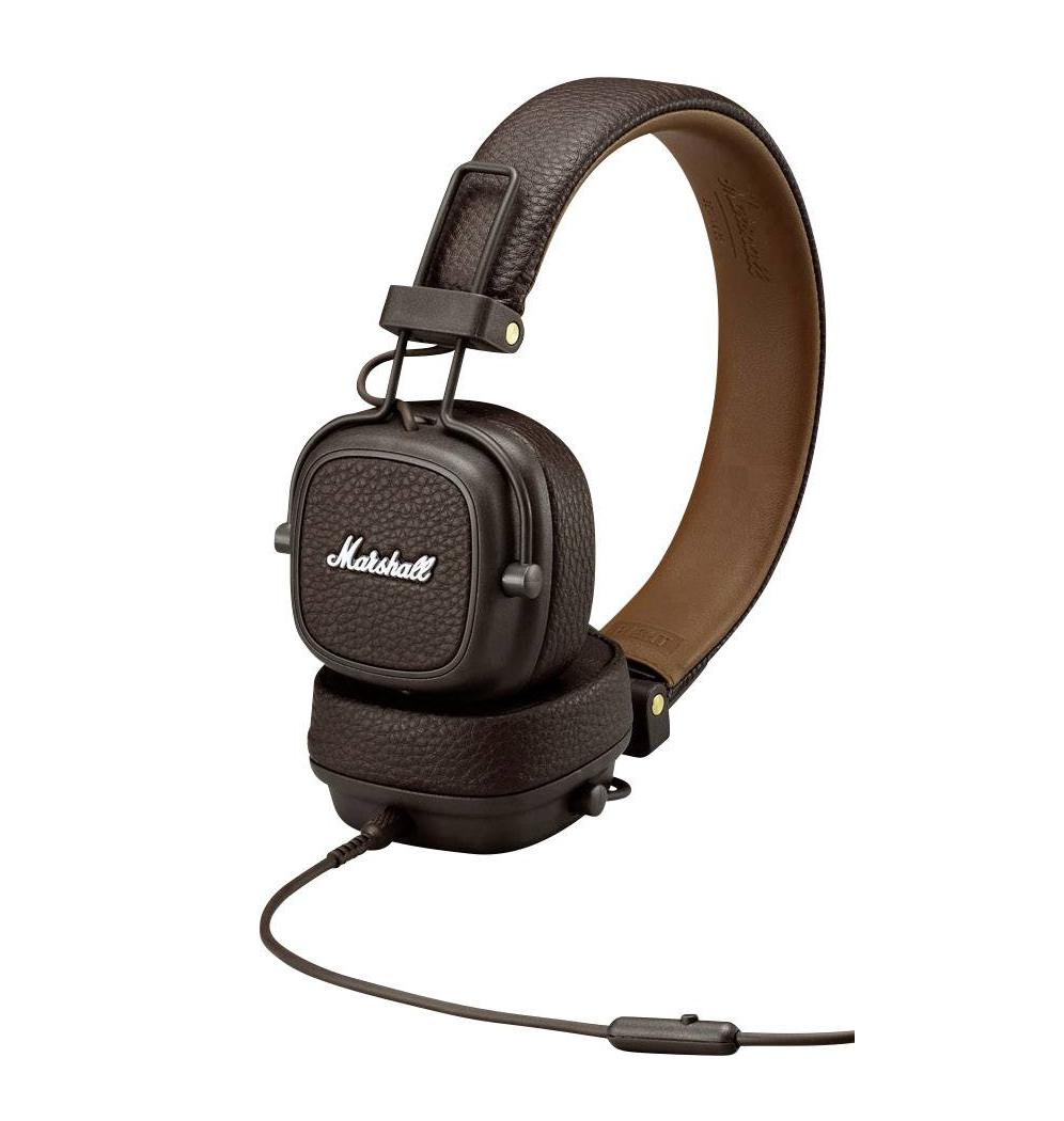 Marshall Major III Headphones Brown