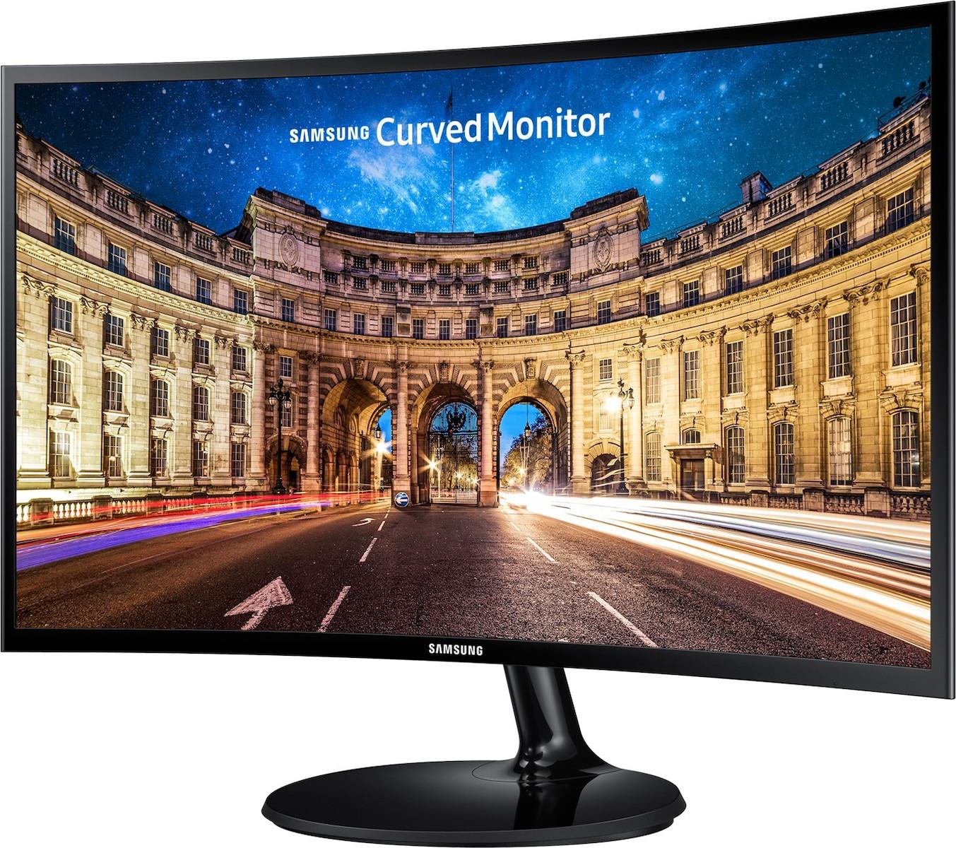 Samsung C27F390FHU 27'' Full HD Curved Οθόνη Πληρωμή έως 24 δόσεις*