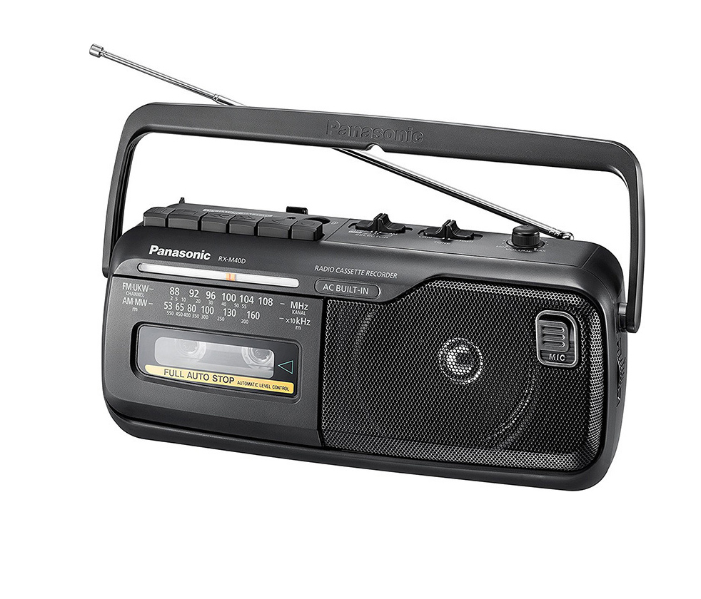 Panasonic RX-M40DE-K Ραδιοκασετόφωνο