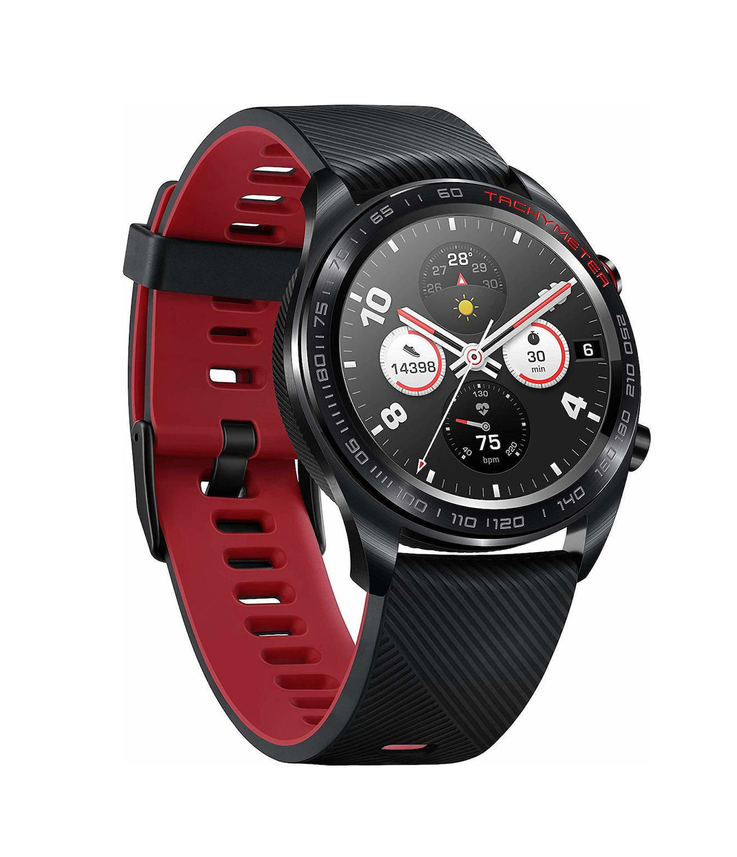 Honor Watch Magic Meteorite Black/Red Πληρωμή έως 24 δόσεις