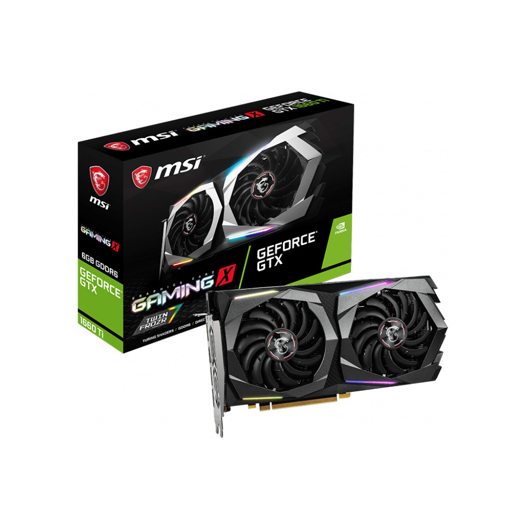 MSI GeForce GTX1660 Ti 6GB Gaming X V375-040R Κάρτα Γραφικών