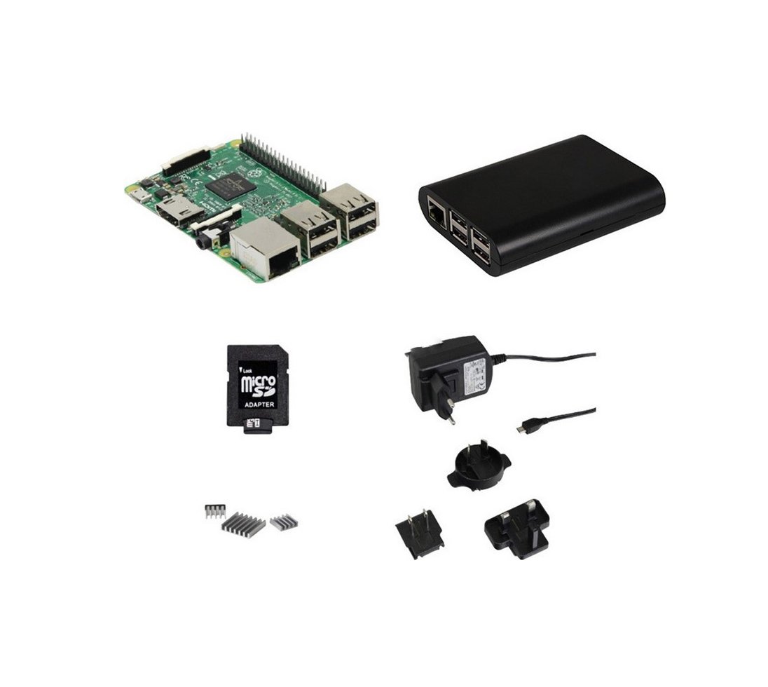 Raspberry Pi 3 Starter Kit Set 4