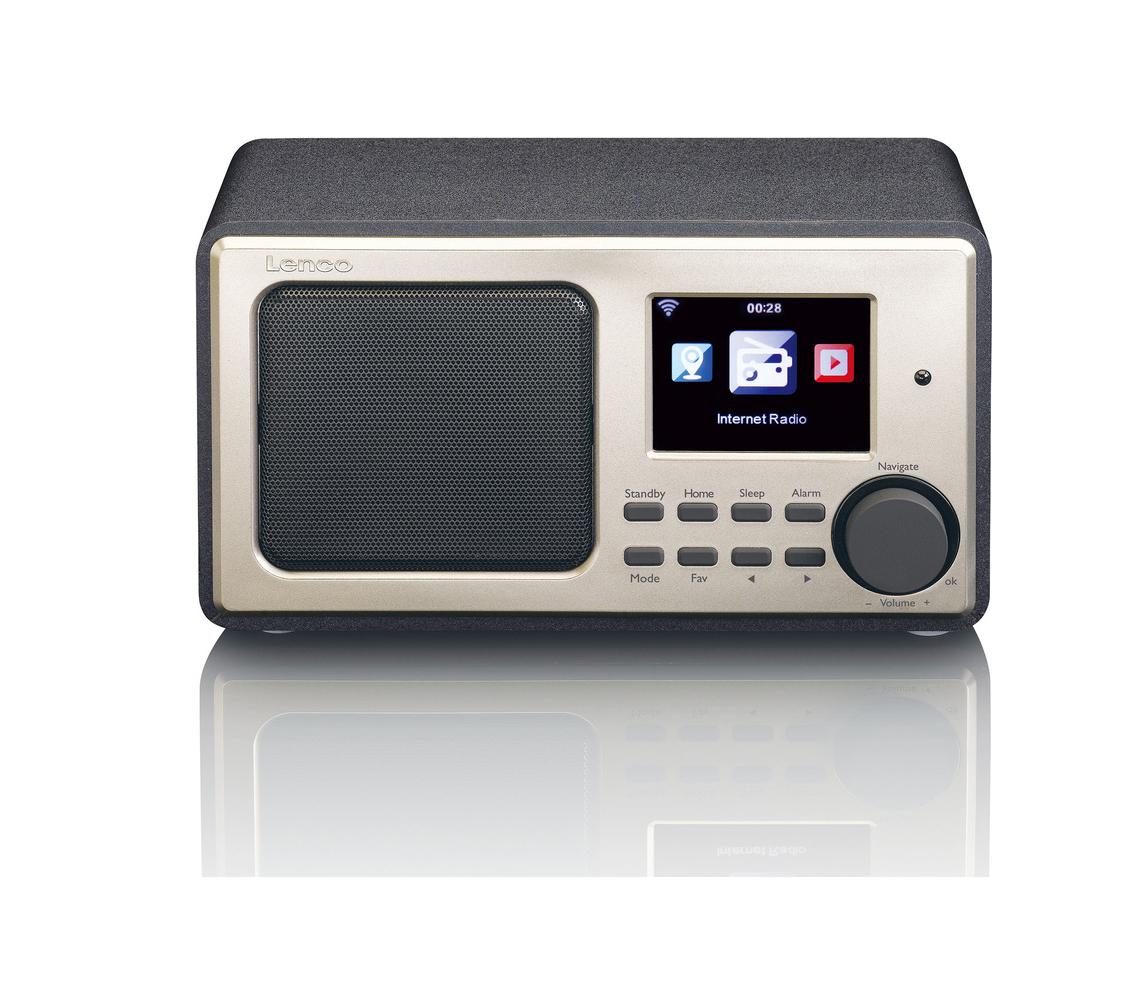 Lenco DIR-110BK Wifi Ραδιόφωνο Black
