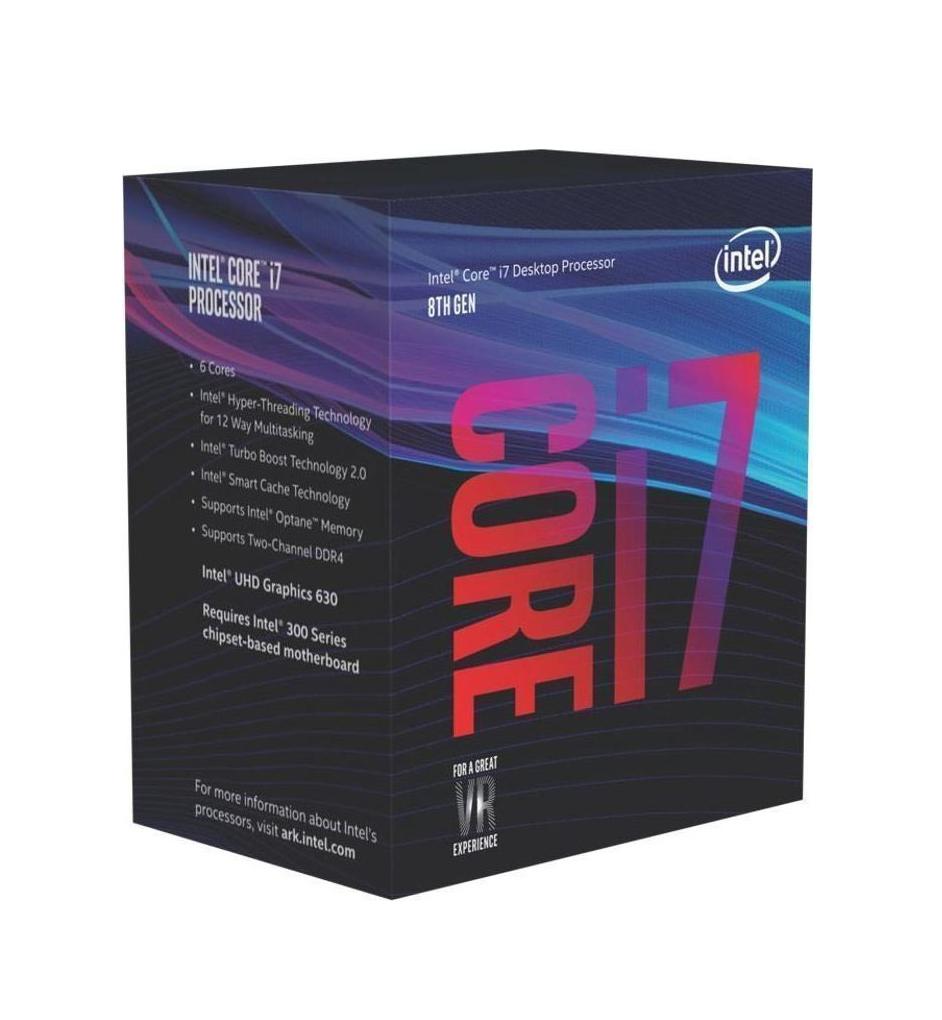 Intel Core i7-8700 Box Επεξεργαστής Πληρωμή έως 24 δόσεις