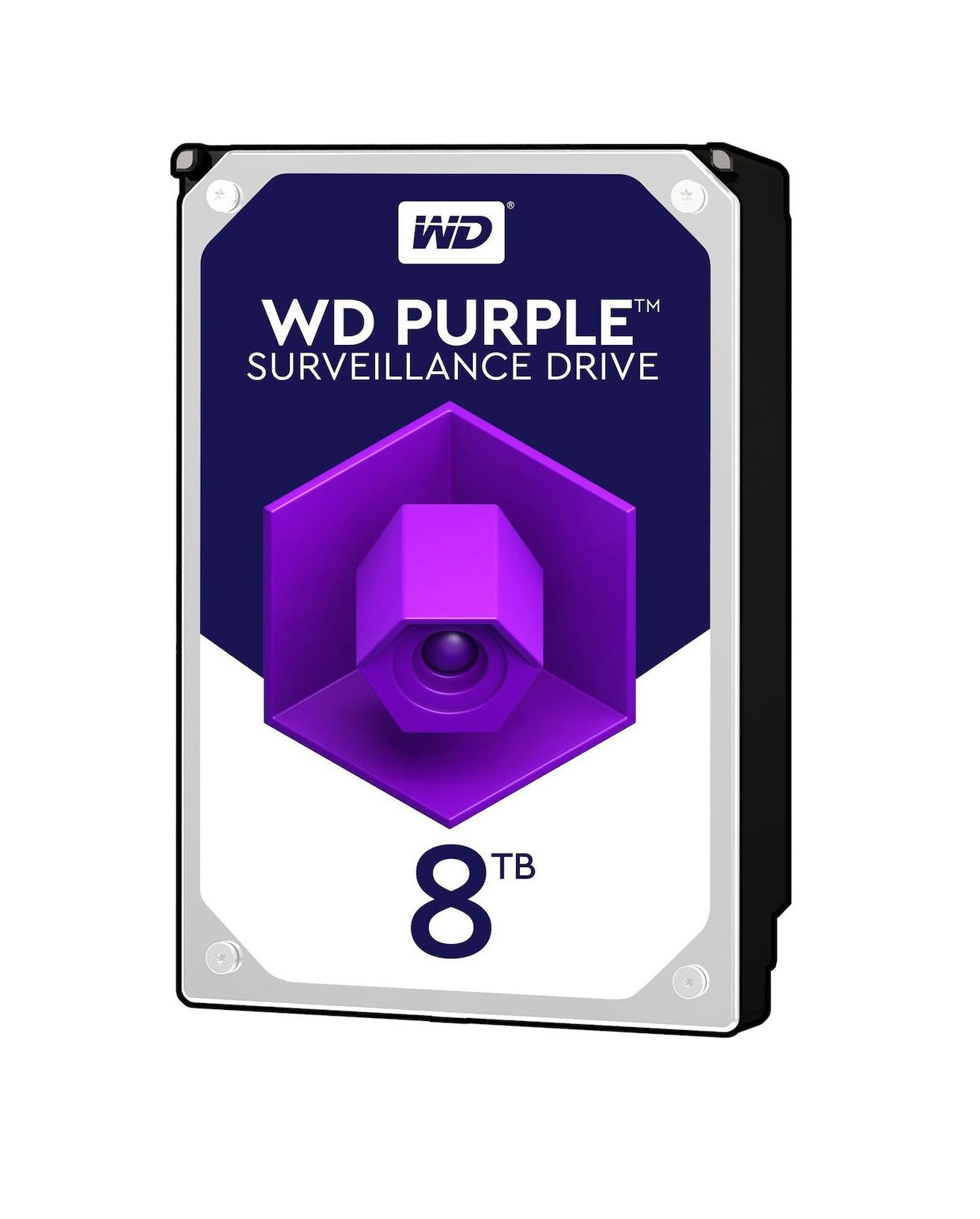 Western Digital Purple 8TB (256MB Cache) WD81PURZ Σκληρός Δίσκος 3.5'' Sata 3