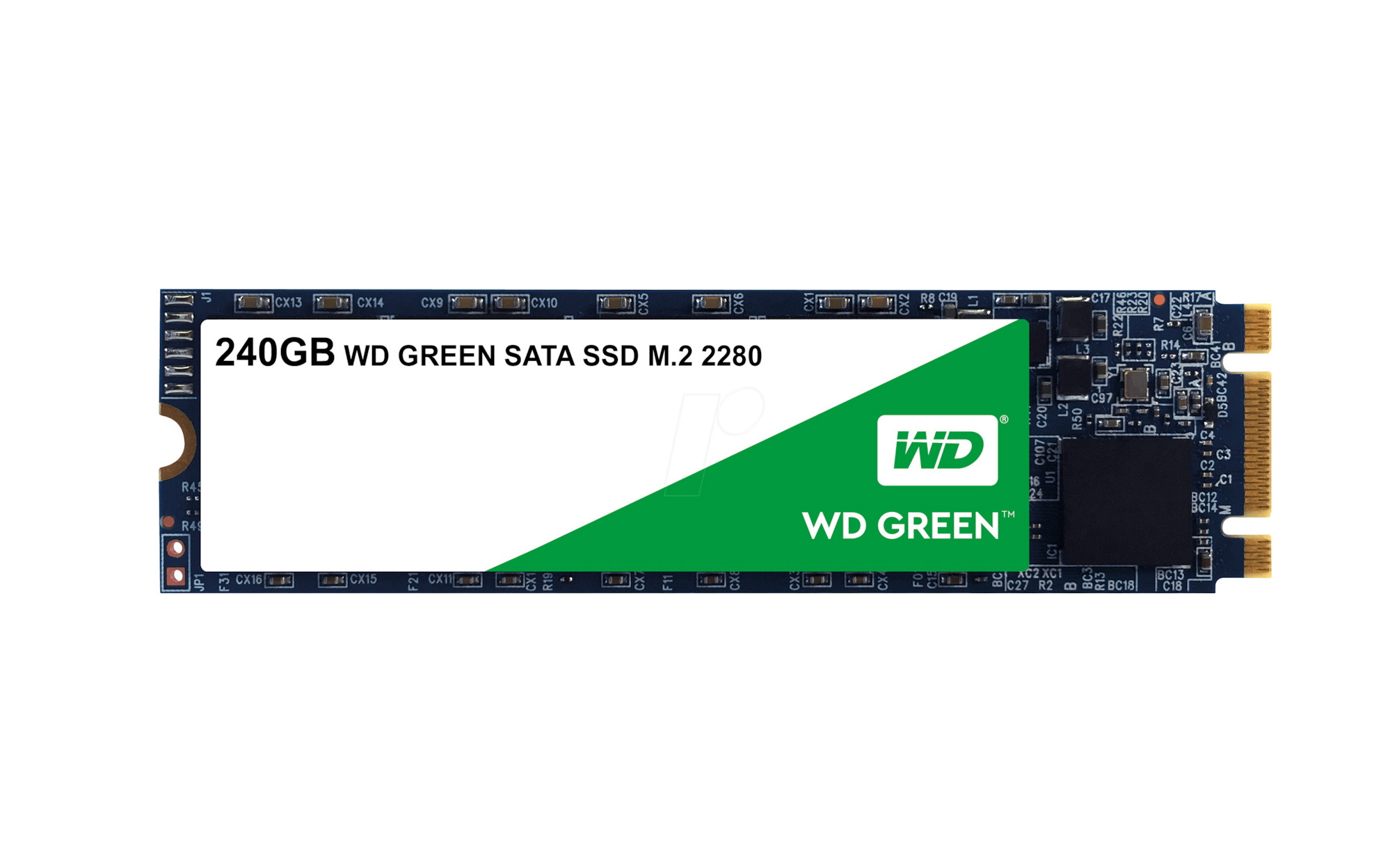 Western Digital WD Green 240GB M.2 Σκληρός Δίσκος SSD WDS240G2G0B