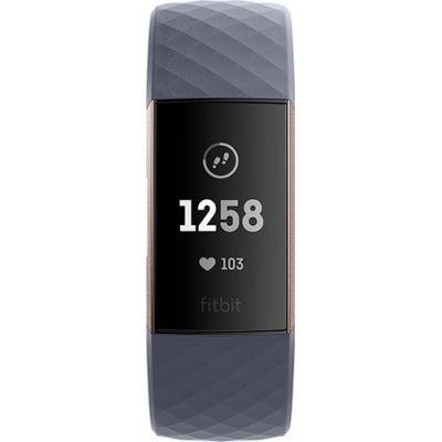 Fitbit Charge 3 BlueGrey/RoseGold Πληρωμή έως 24 δόσεις