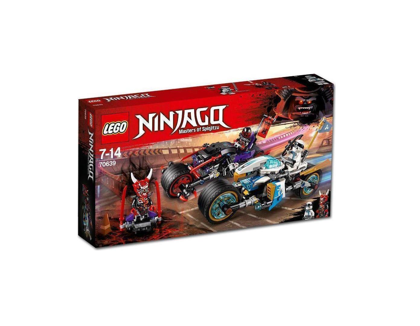 Lego Ninjago: Street Race of Snake Jaguar 70639