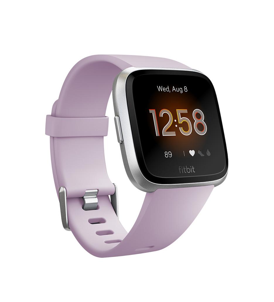 Fitbit Versa Lite Smartwatch FB415SRLV Lilac