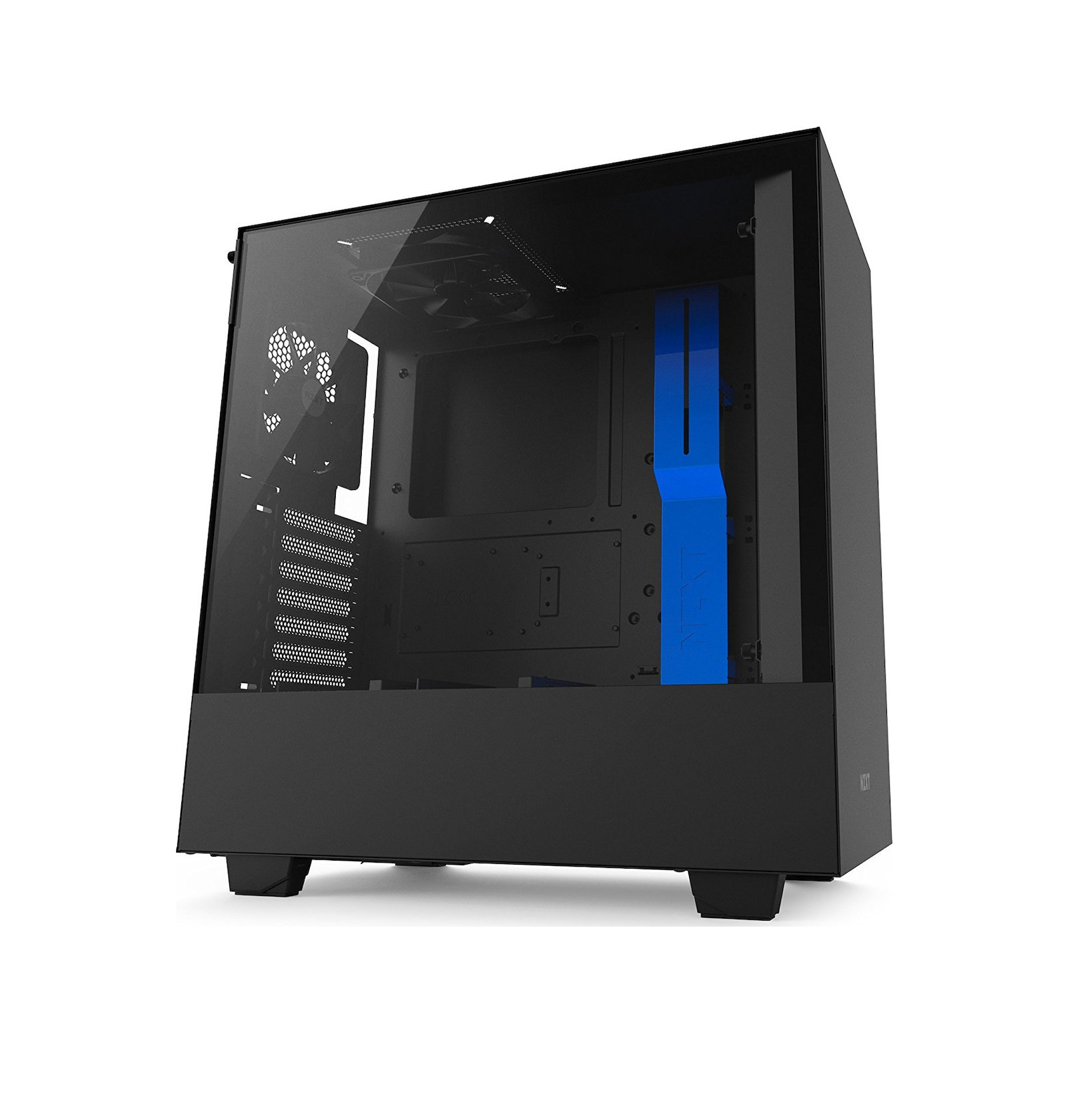 NZXT H500i Window Midi Tower ATX CA-H500W-BL Black/Blue