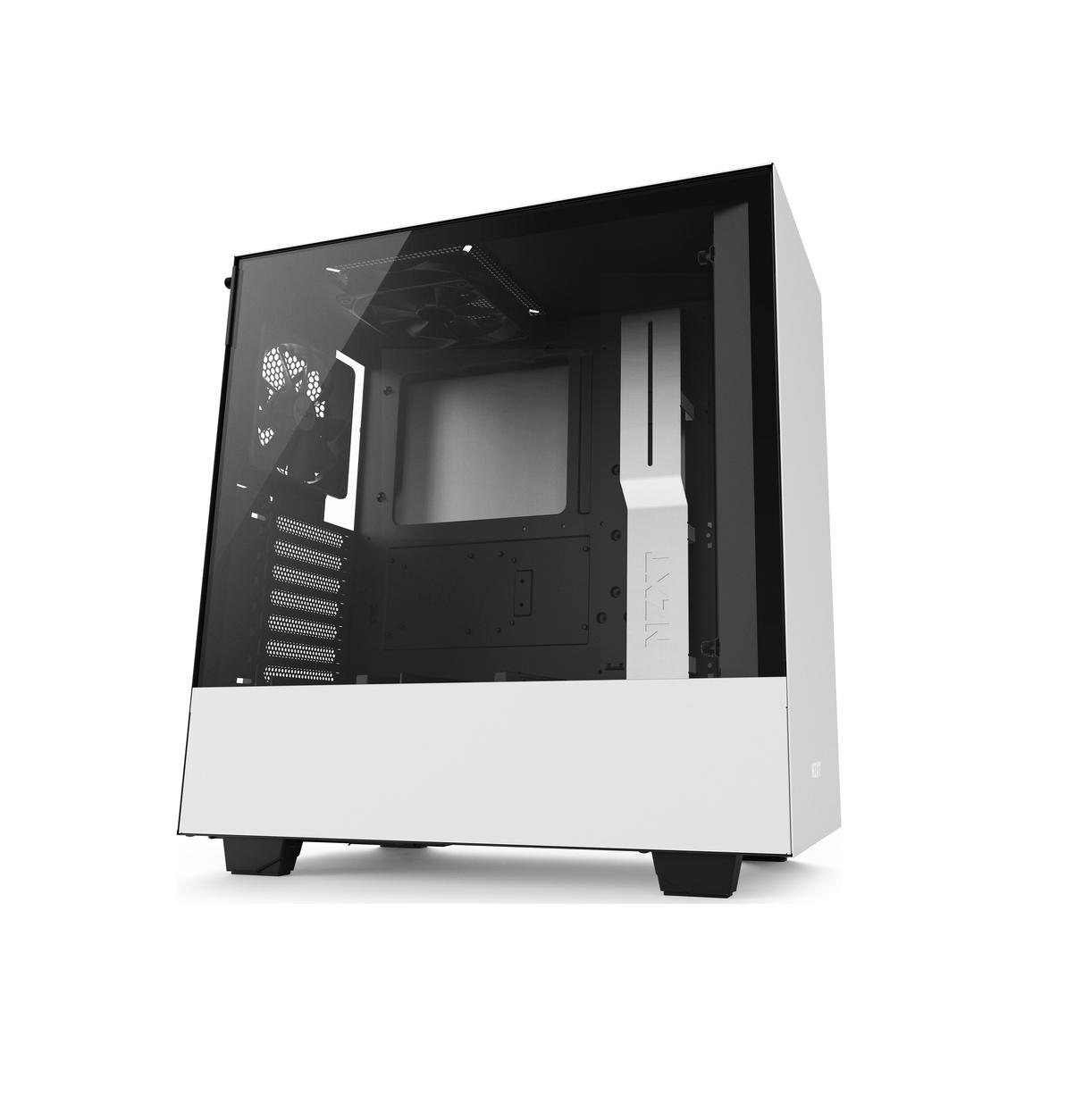 NZXT H500 Window Midi Tower ATX CA-H500B-W1 White