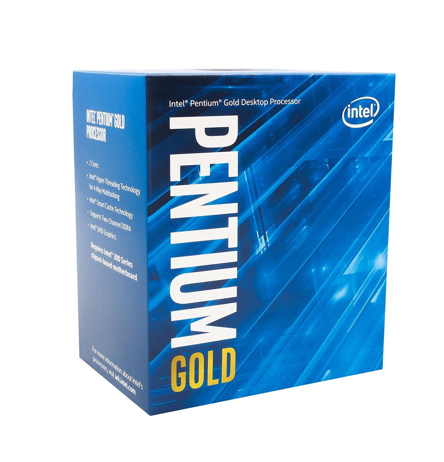 Intel Pentium Dual Core Gold G5400 Box Επεξεργαστής Πληρωμή έως 24 δόσεις