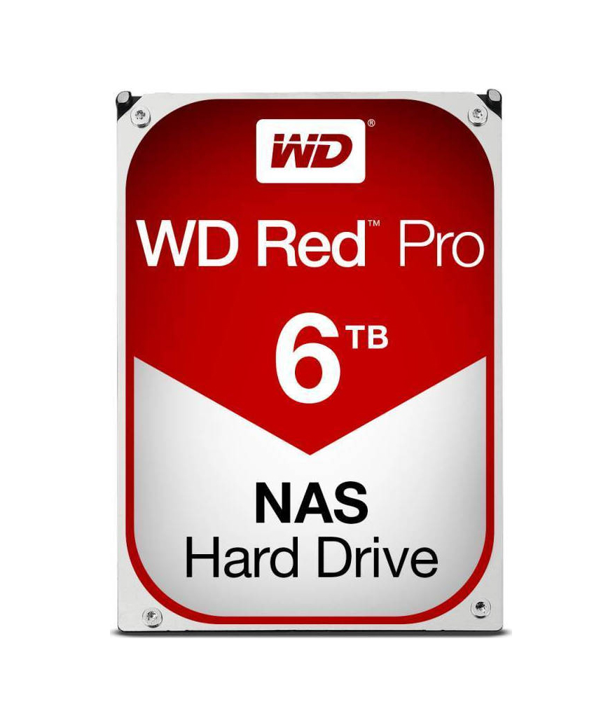 Western Digital Red Pro 6TB WD6003FFBX Σκληρός Δίσκος 3.5'' Sata 3 Red