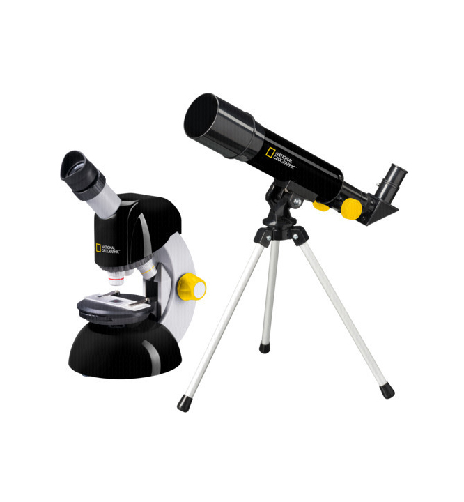 National Geographic Set Telescope Microscope 9118400