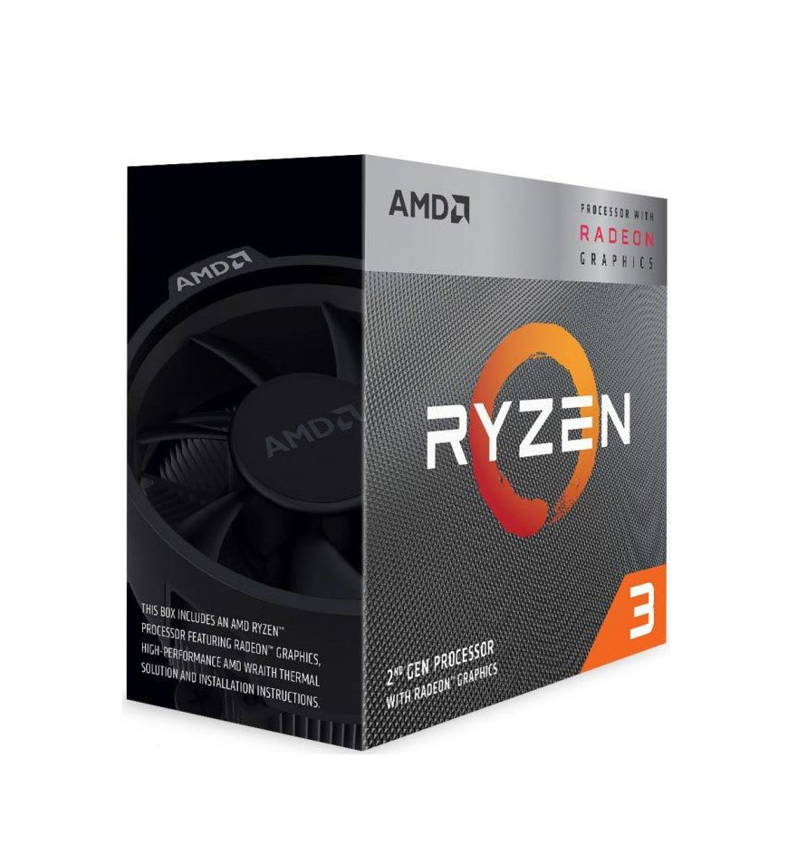 AMD Ryzen 3 3200G Box Επεξεργαστής Πληρωμή έως 24 δόσεις