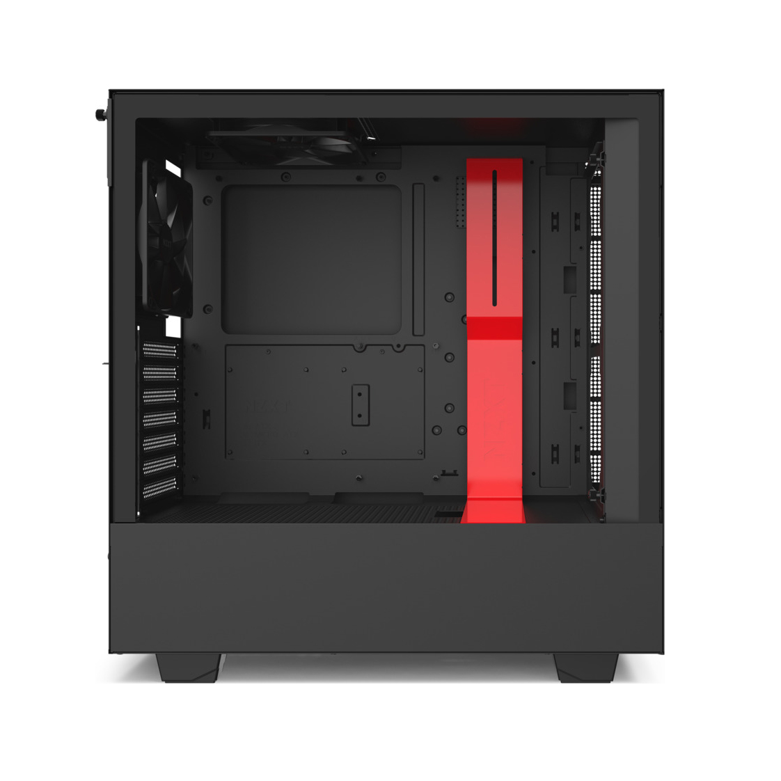 NZXT H510i Window Midi Tower CA-H510i-BR Black/Red