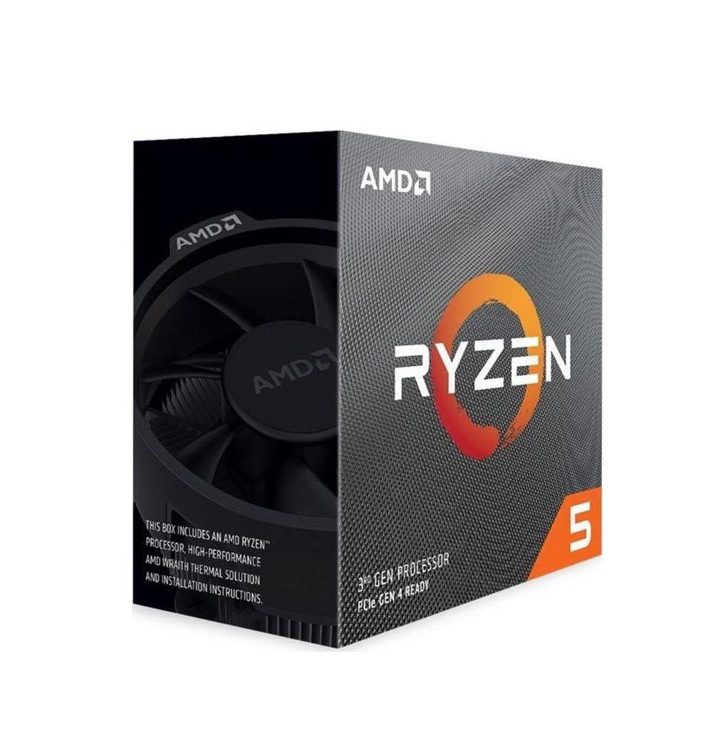 AMD Ryzen 5 3600X Box Επεξεργαστής Πληρωμή έως 24 δόσεις