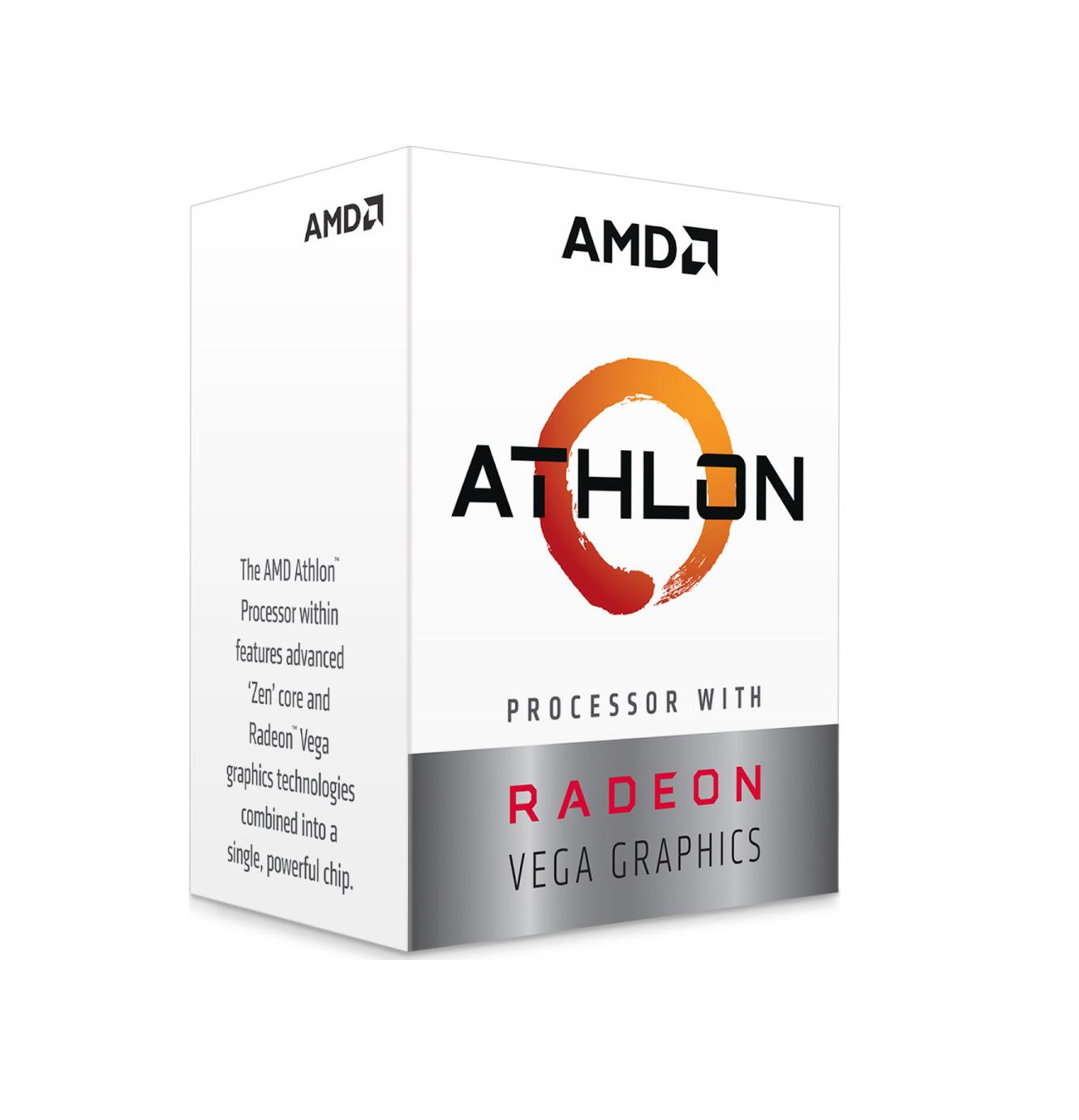 AMD Athlon 240GE 3.5GHz 4MB Box Επεξεργαστής