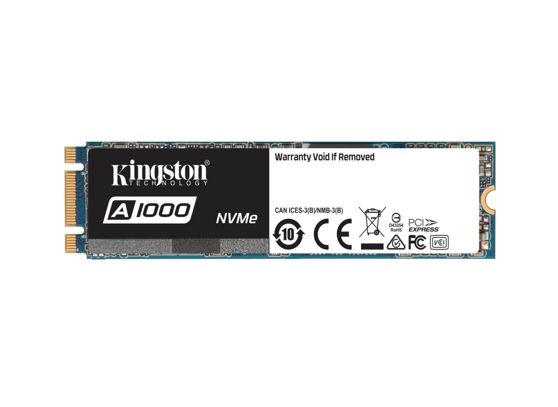 Kingston A1000 M.2 480GB SA1000M8/480G Σκληρός Δίσκος SSD