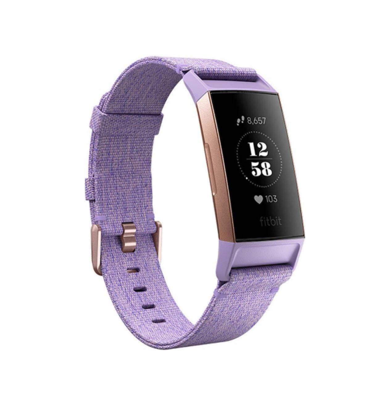 Fitbit Charge 3 Special Edition Lavender FB410RGLV-EU Πληρωμή έως 24 δόσεις