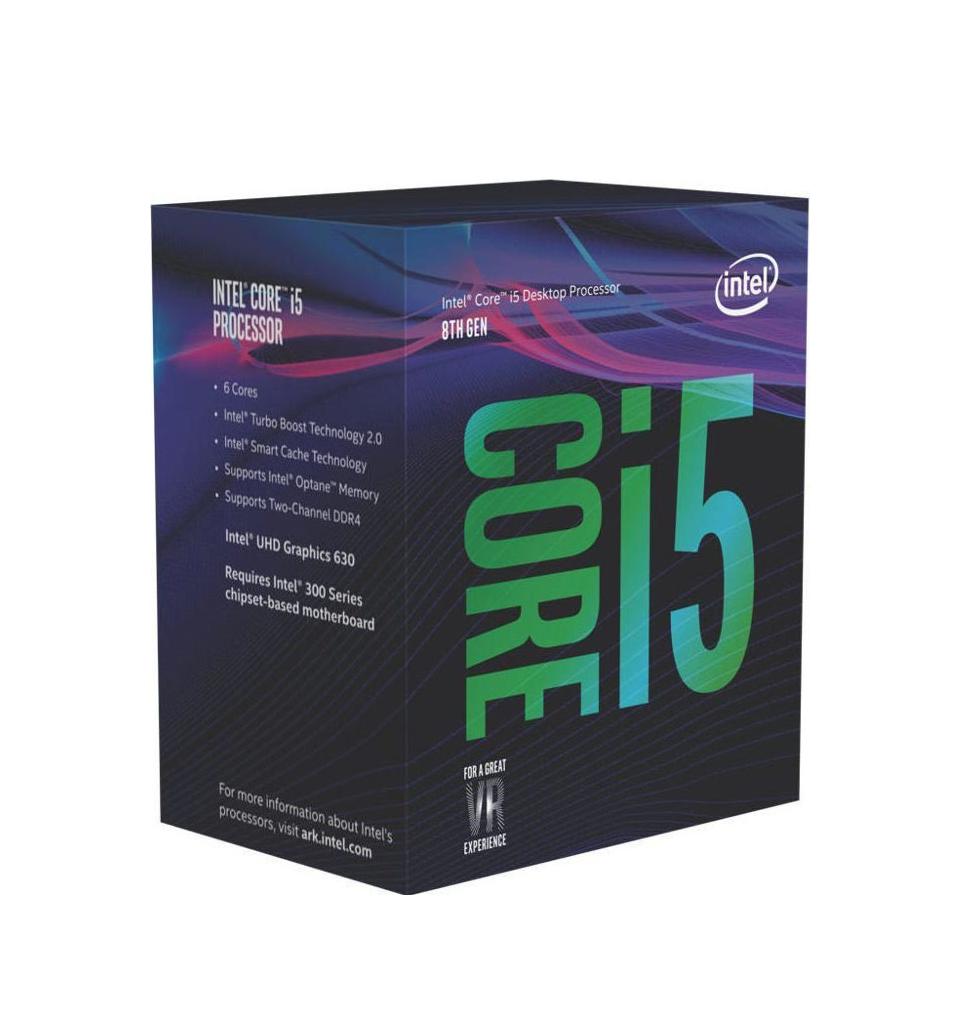 Intel Core i5-8500 Box  Επεξεργαστής Πληρωμή έως 24 δόσεις