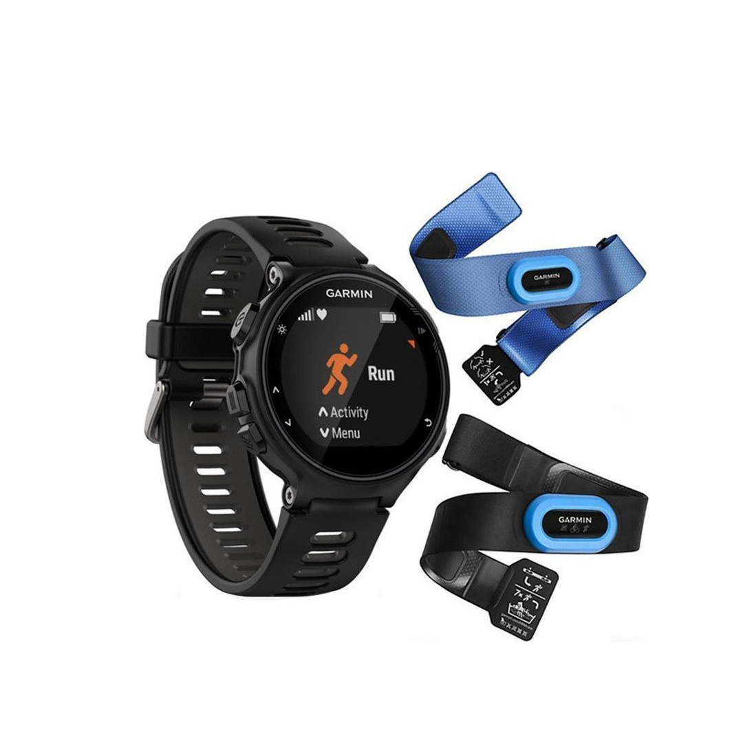 Garmin Forerunner 735XT Tri Bundle Black & Grey 010-01614-09 Πληρωμή έως 24 δόσεις