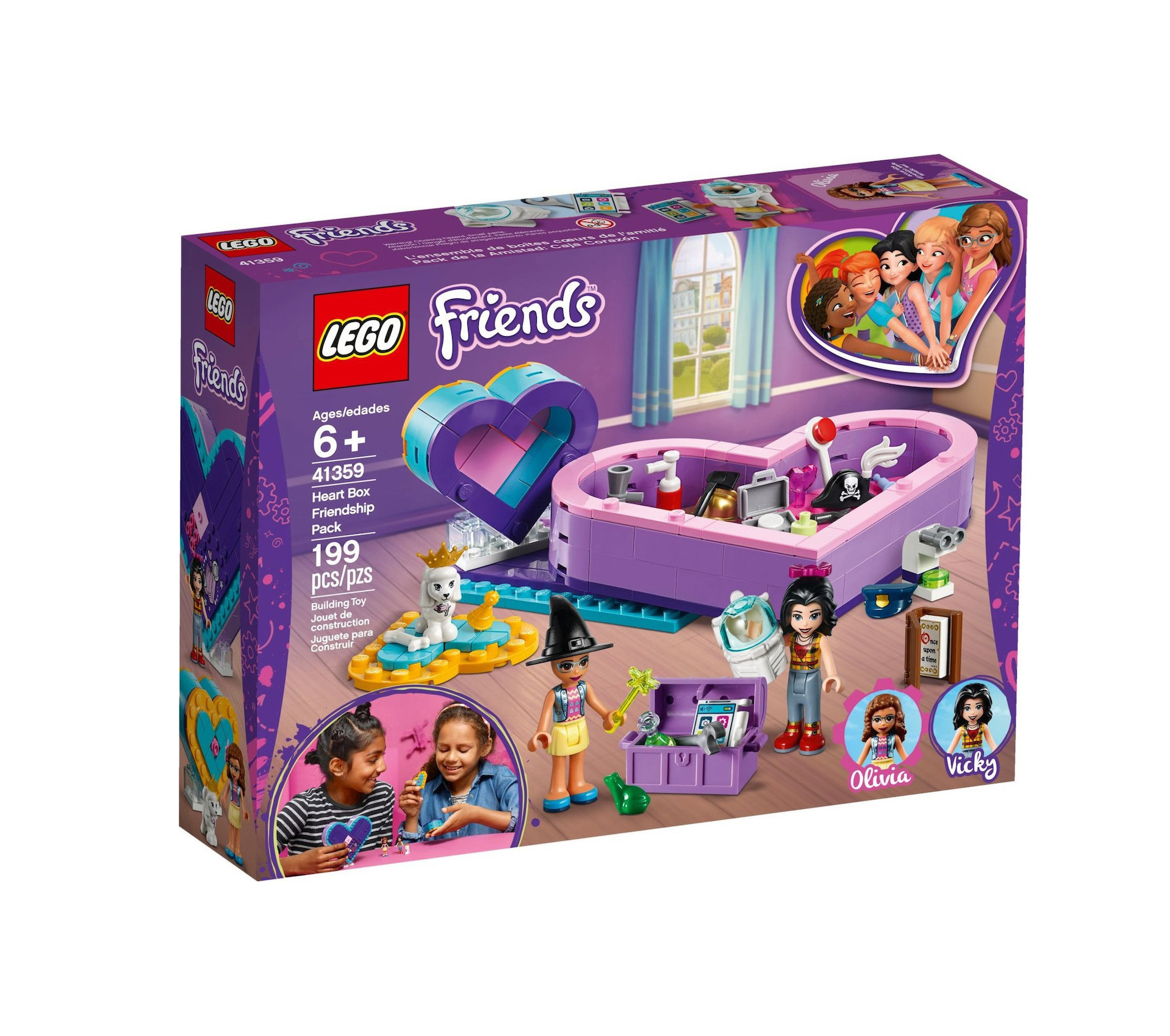 Lego Friends: Heart Box Friendship Pack 41359