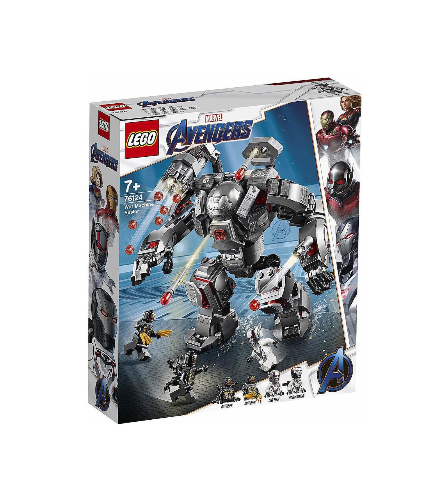 Lego Super Heroes: War Machine Buster 76124