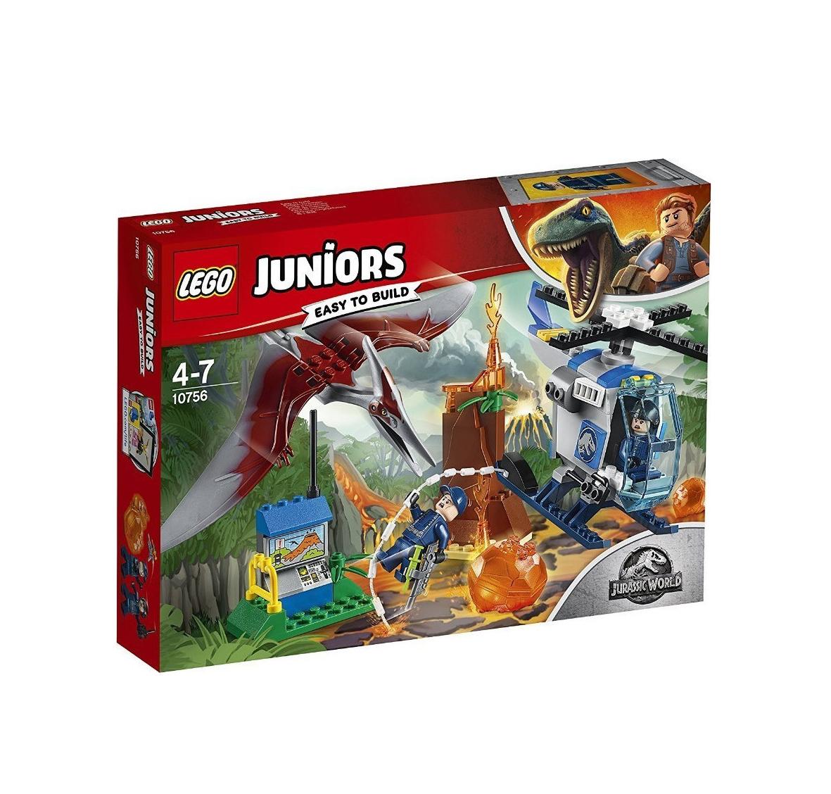 Lego Juniors: Jurassic World Pteranodon Escape 10756