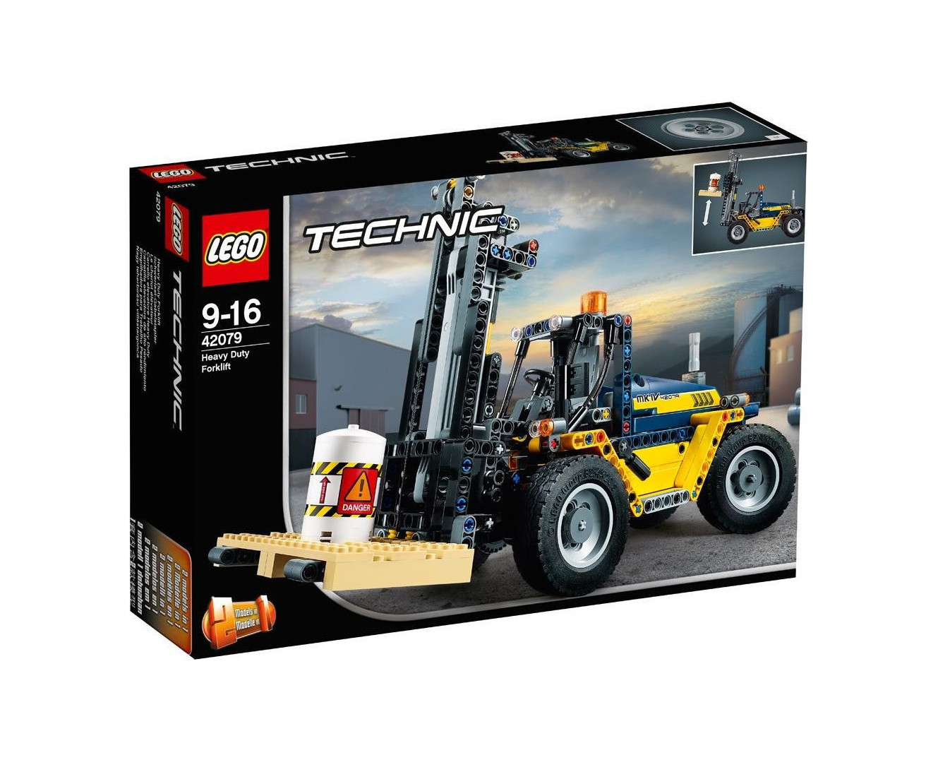 Lego Technic: Heavy Duty Forklift 42079