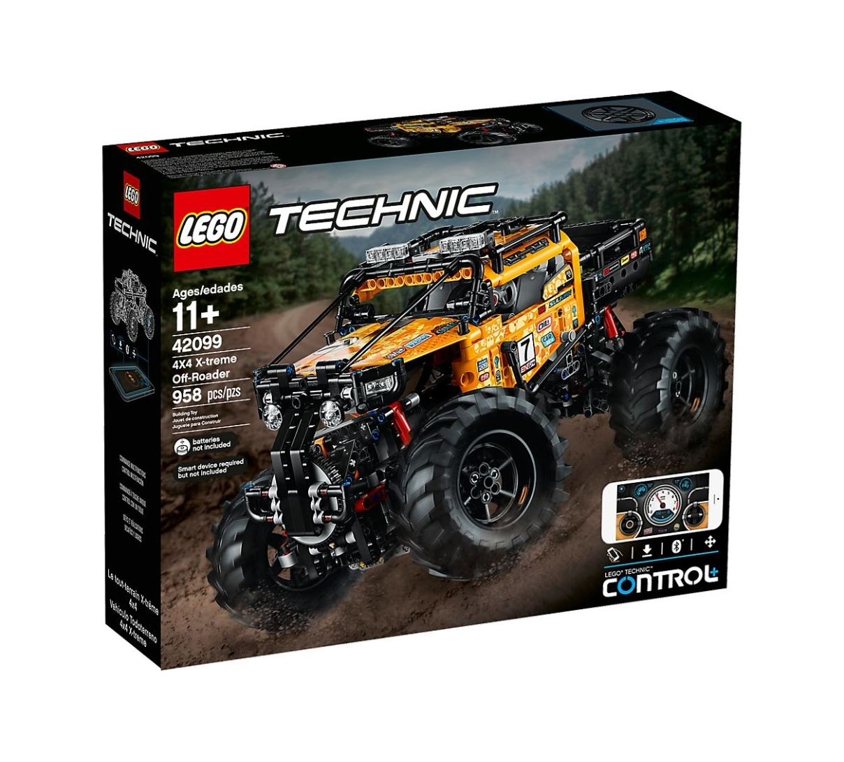 Lego Technic: 4X4 X-treme Off-Roader 42099