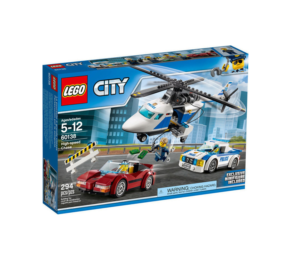 Lego High-speed Chase 60138
