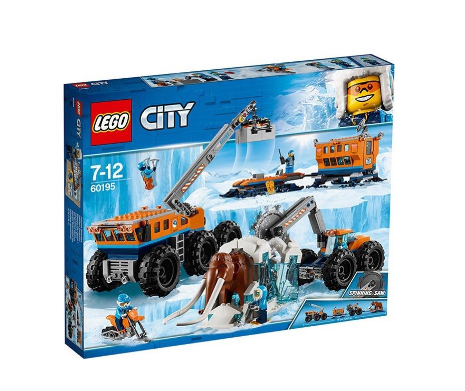 Lego City: Arctic Mobile Exploration Base 60195