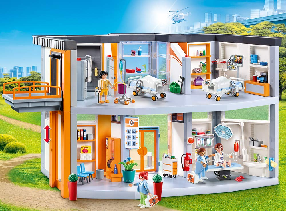 Playmobil City Life: Large Hospital 70190