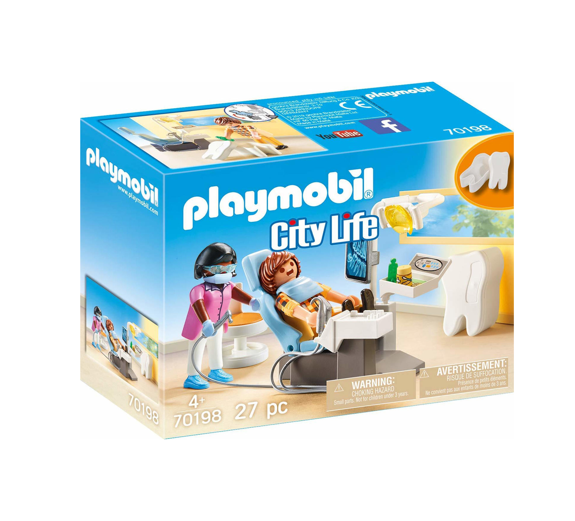 Playmobil City Life: Dentist 70198