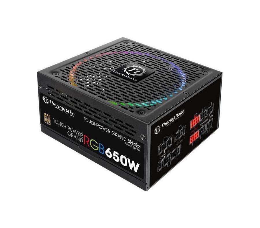 Thermaltake Toughpower Grand RGB 650W Gold Τροφοδοτικό