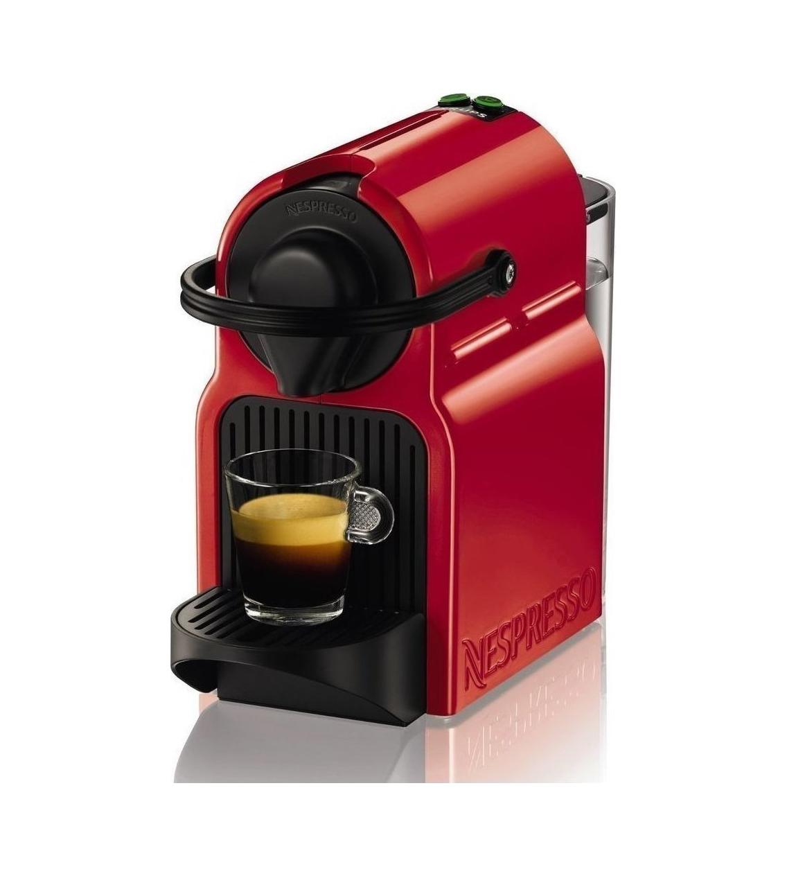Krups Nespresso Inissia XN1005 Μηχανή Espresso Red