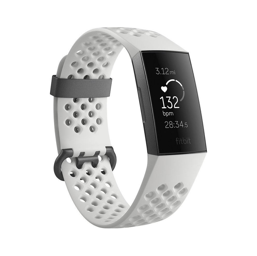 Fitbit Charge 3 Special Edition Frost White/Graphite FB410GMWT-EU Πληρωμή έως 24 δόσεις