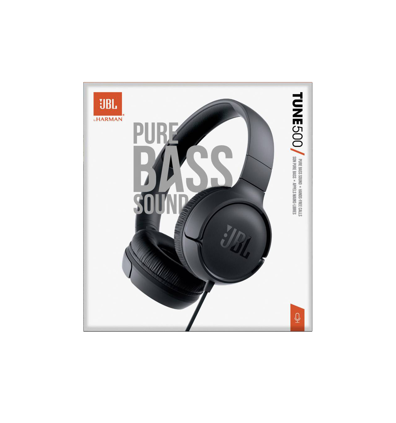 JBL Tune 500 Headphones Black