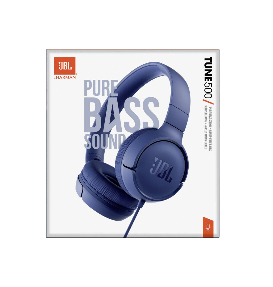 JBL Tune 500 Headphones Blue